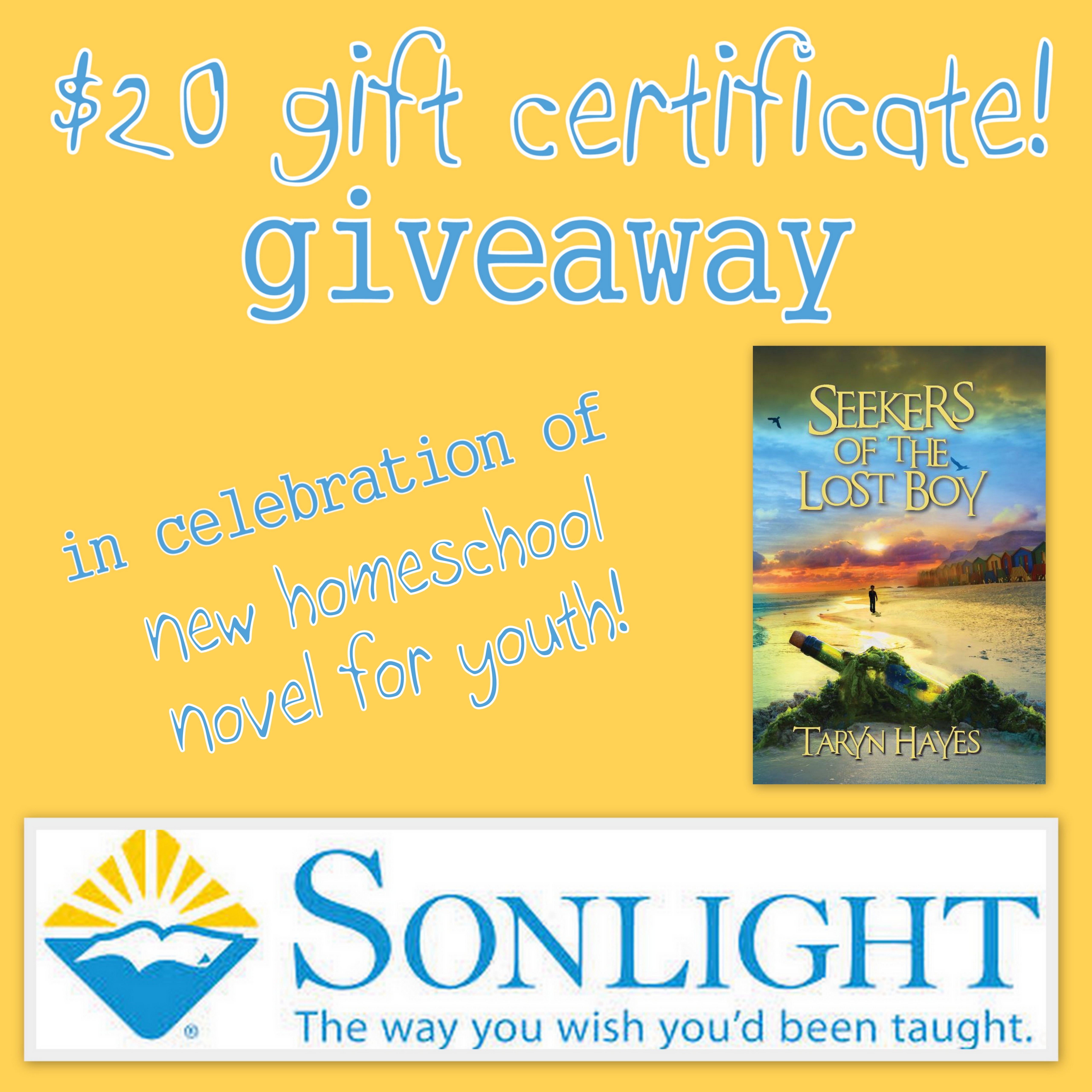 SeekersSonlight giveaway